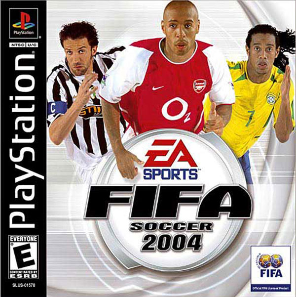 FIFA Soccer 2004 [NTSC-U] Front Cover